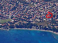Location of apartments Ivanita